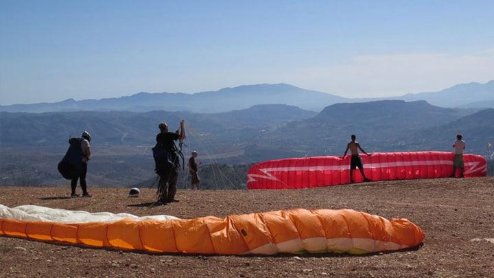 Paragliding Dolomieten italie