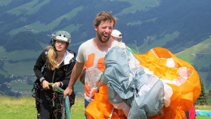 Paragliding korte trips