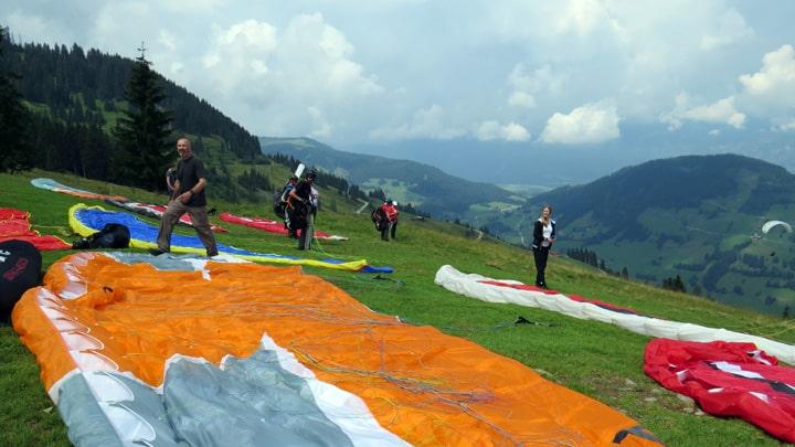 Paragliding vliegplekken