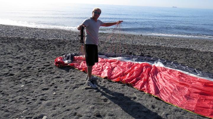 Paragliding vliegsafari