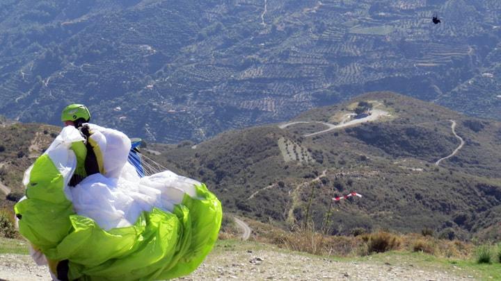 Paragliding Zuid-Spanje