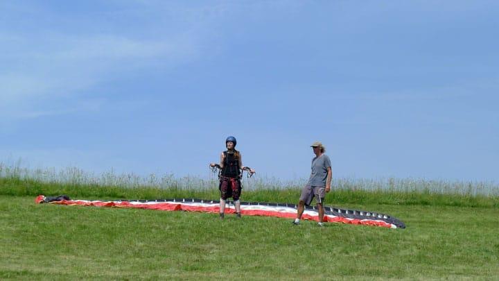 Paragliding cursus beginners