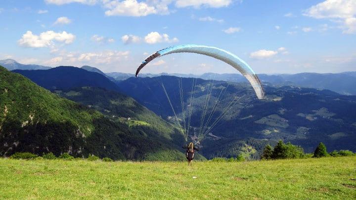 Cursus paragliding gevorderd