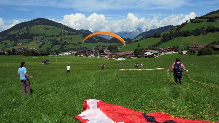 Paraglidingschool